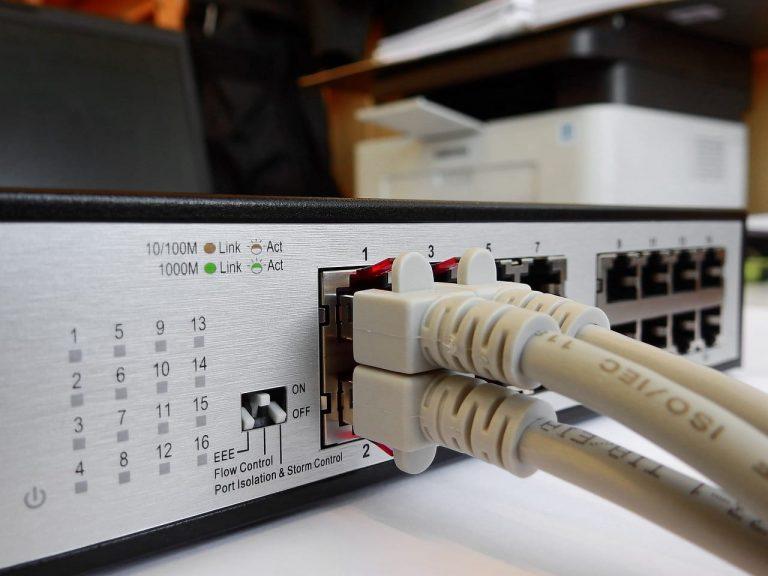 ağ cihazı ethernet