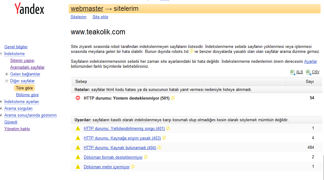 Yandex Webmaster,site ekleme,Yandex Webmaster Tool,Yandex Webmaster Tools