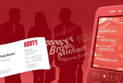 ABBYY Business Card Reader 1.0.9.1