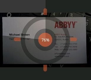 abbyy card reader
