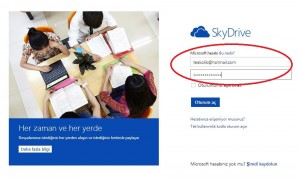 skydrive-login