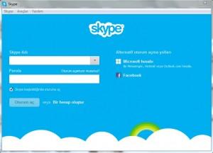 Skype-Arayuz
