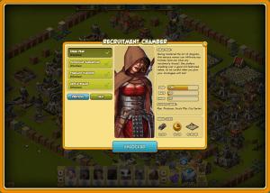 War Of Mercenaries - Karakter