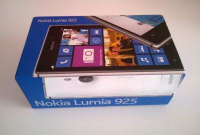 Lumia 925 kutu