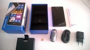 Lumia 925 kutu içeriği