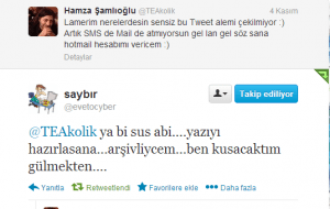 Tweet-saybir
