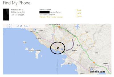 WindowsPhone_TelefonumuBulHaritasi