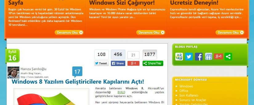 Microsoft Blog Konuk Yazar