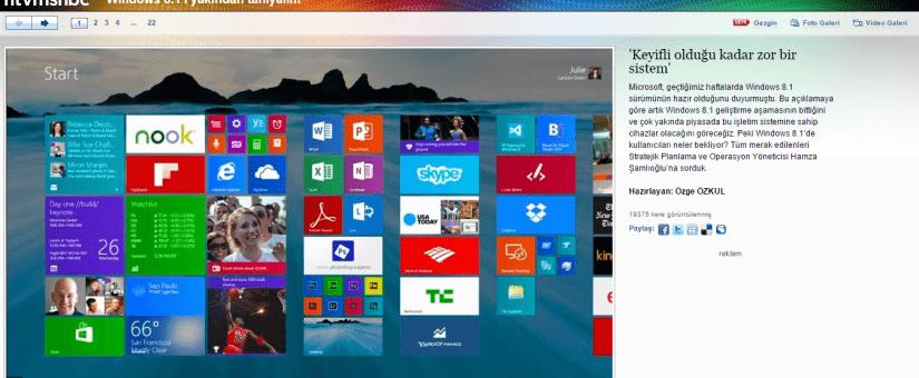 Ntvmsnbc Windows 8.1 Röportajım