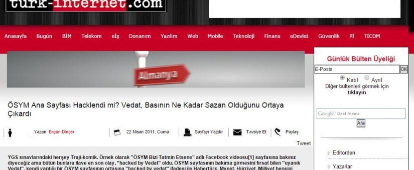 Turk.internet.com Haberi