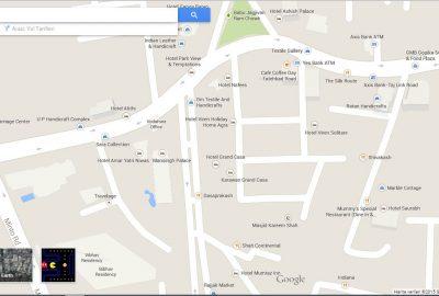 Google_Maps_Oyun_Pacman