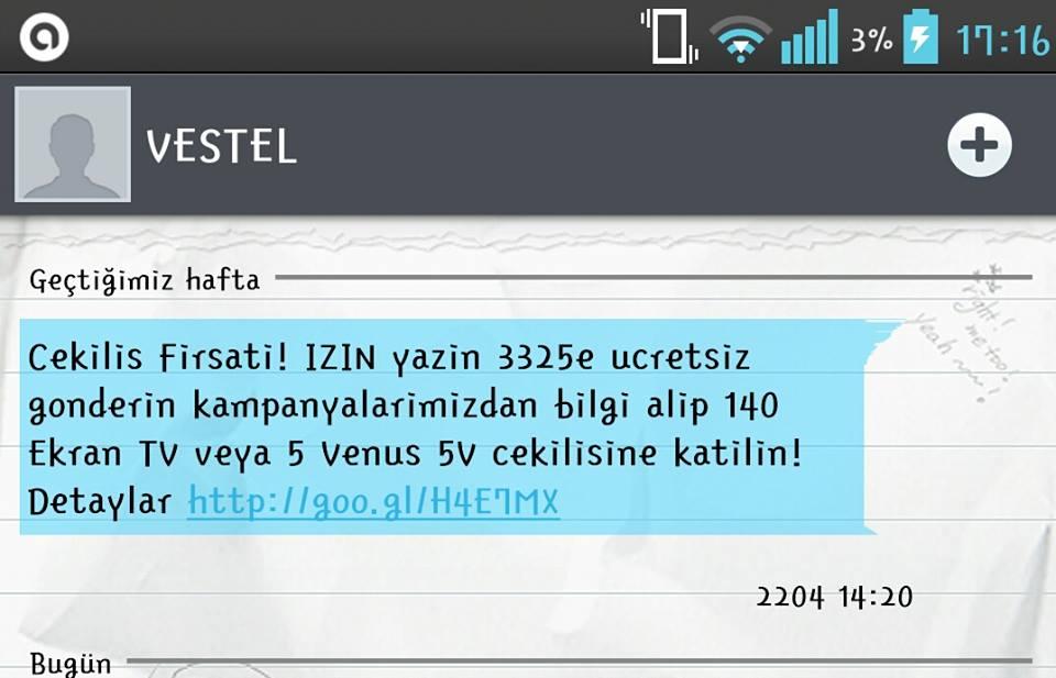 vestel_izin