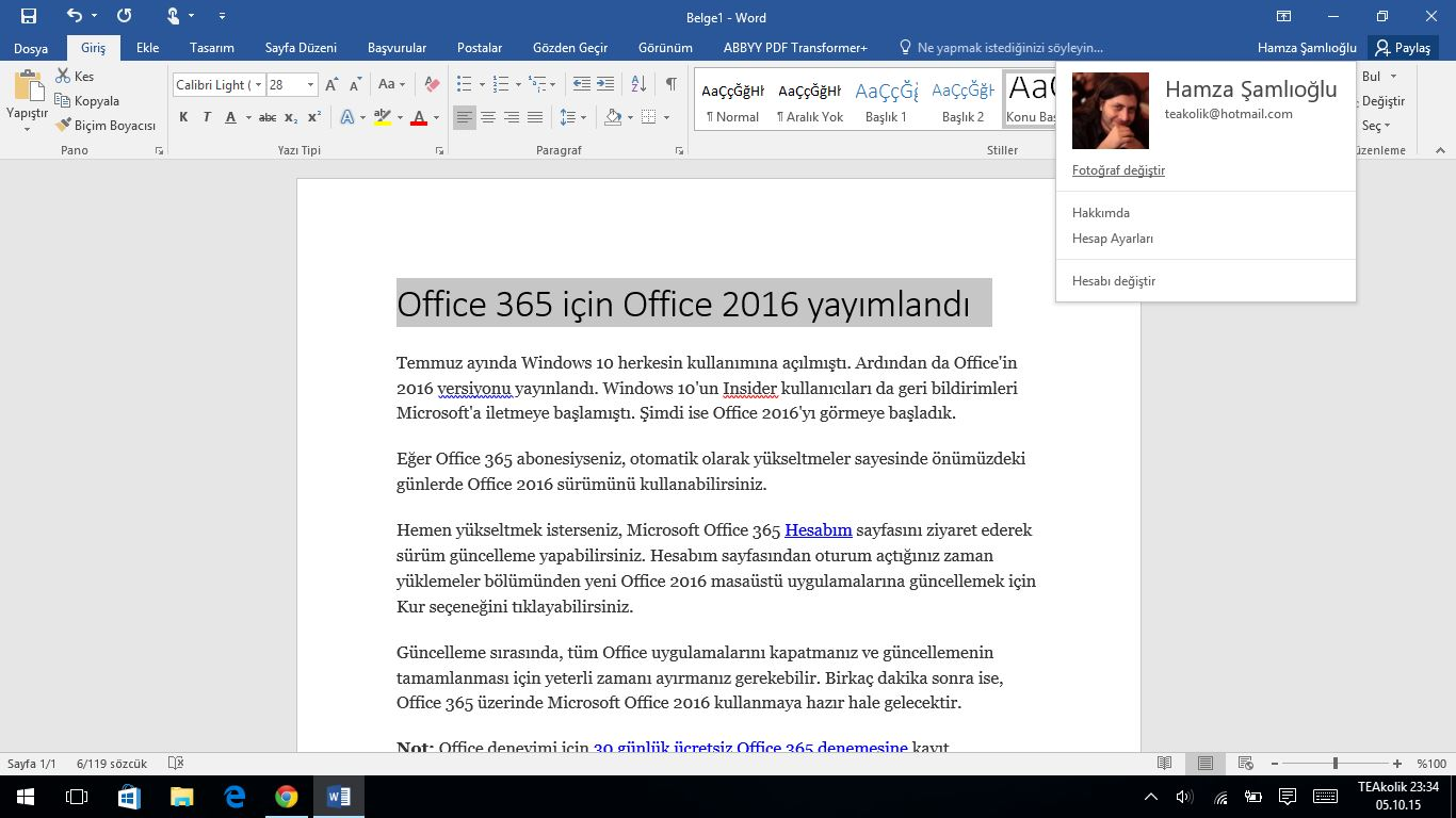office 365 i in office 2016 yay mland. Black Bedroom Furniture Sets. Home Design Ideas