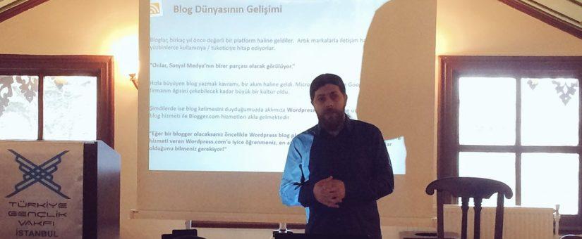 TÜGVA Vakfı Sosyal Medya Eğitimi Programı