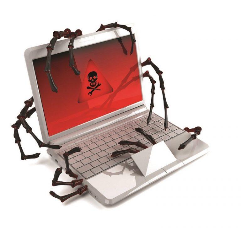 laptop virus