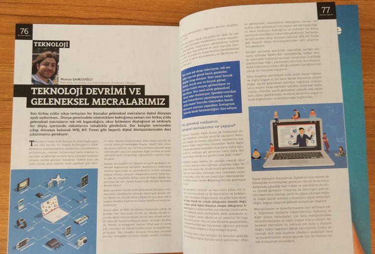 Basın Hayatı Dergisi Röportajı