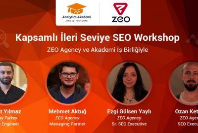 Zeo Agency analytics akademi seo eğitimi