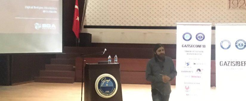 Gazi Üniversitesi Siber Güvenlik Konferansı