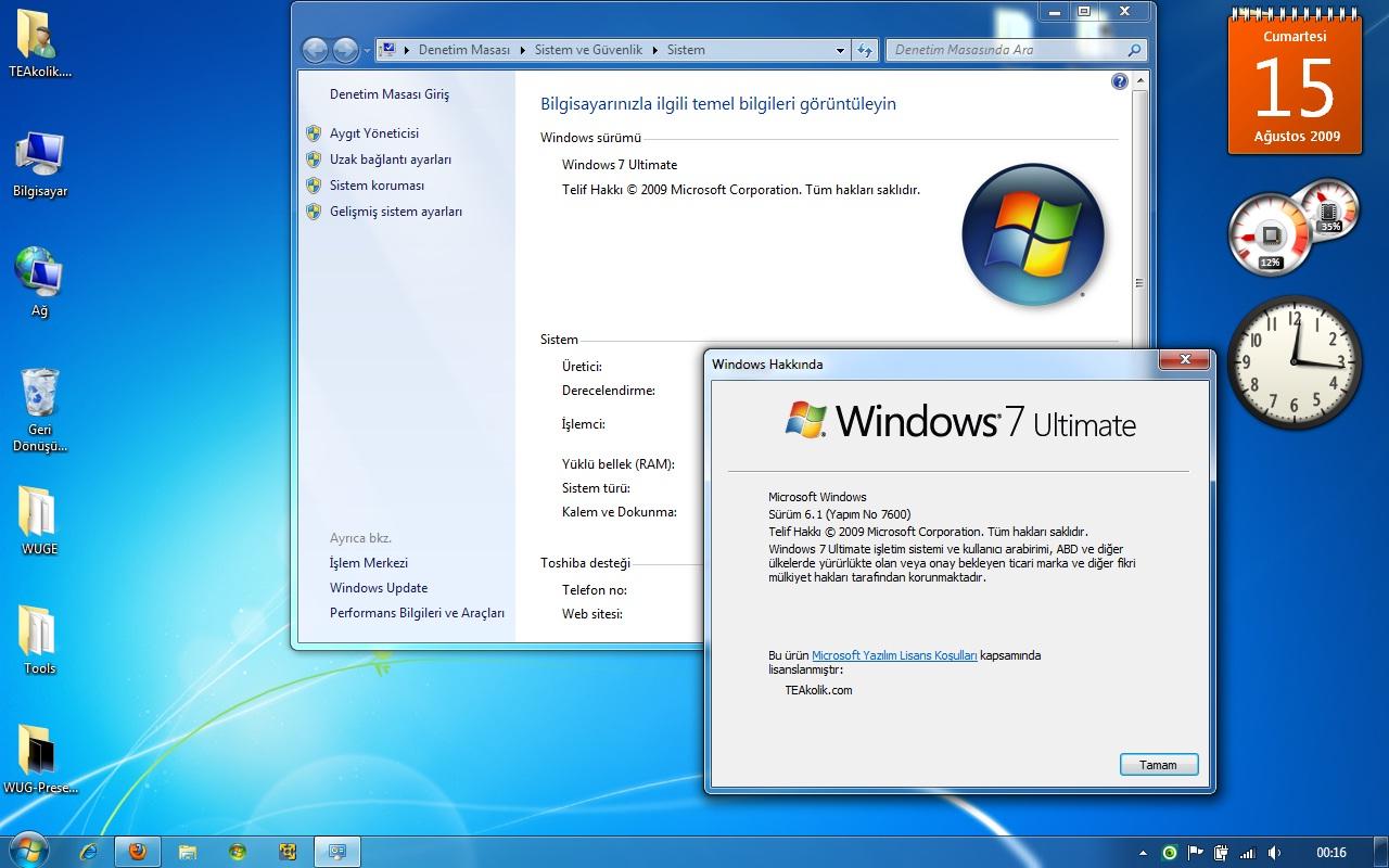 windows 7 home basic 64 bit türkçe indir full